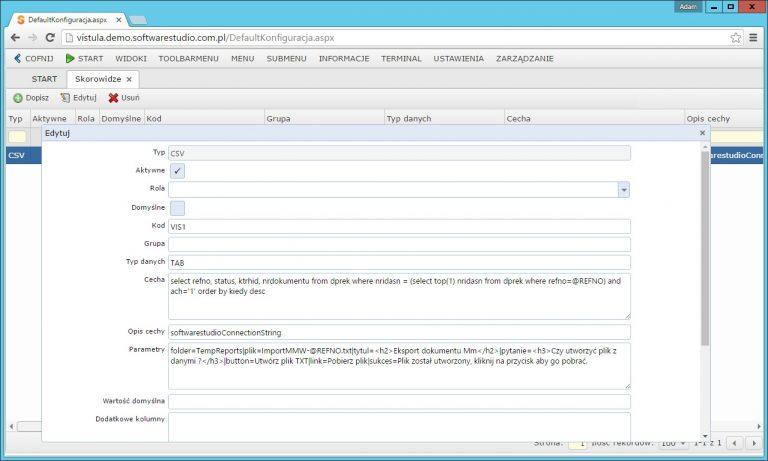 export_csv_konfiguracja