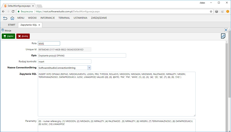 Zapytania SQL insert